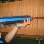 Шовный пистолет для спираль-анкера