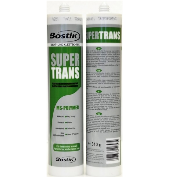 СуперТранс Bostik – монтажный клей герметик на основе MS-полимера