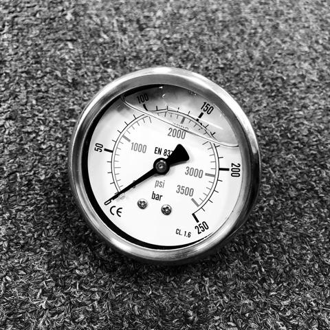 Манометр высокого давления